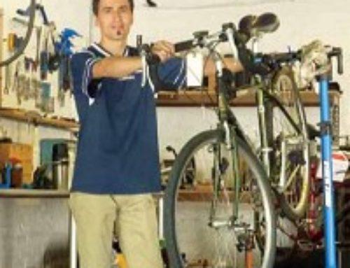 Bucephalus Bikes On the Move
