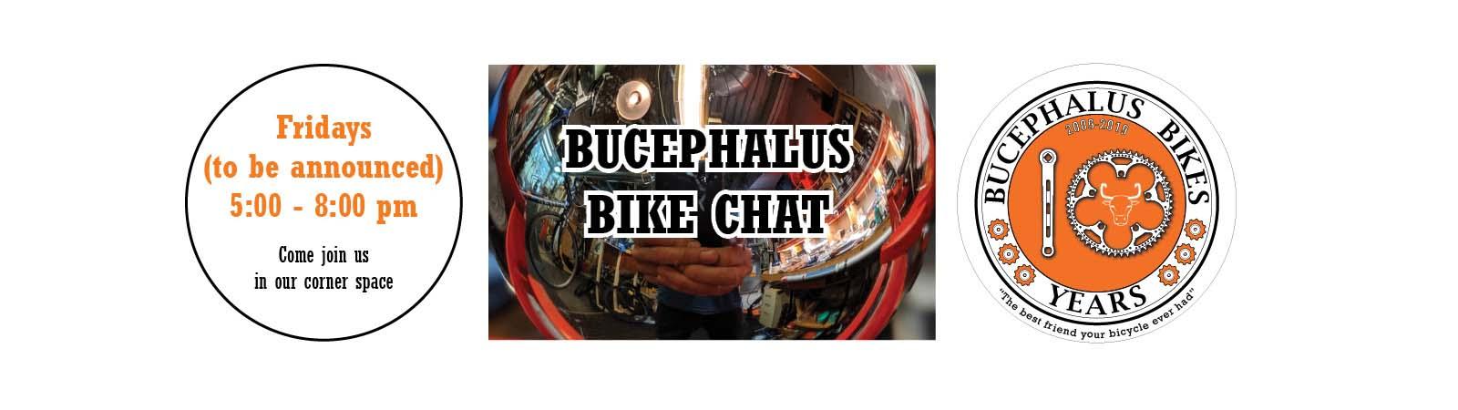Bucephalus Bike Chat