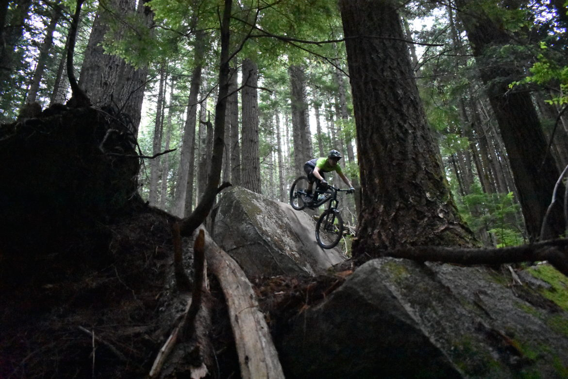 This is just a normal Sunday morning ride for us (Expresso, Mount Fromme, North Vancouver)