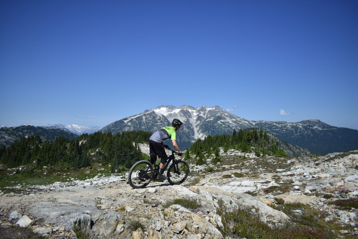 Sometimes we go ride places like this (Lord of the Squirrels, Whistler)