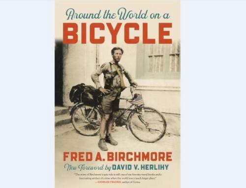 Follow along as an Athens man rides a heavy, one-speed bicycle around the world in the 1930s in recently republished book